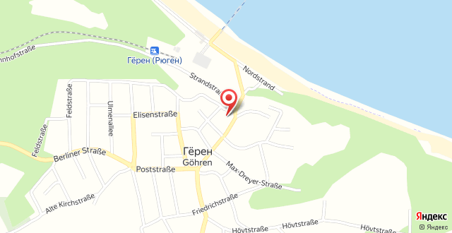Villa Granitz - Ferienwohnung Riedel на карте
