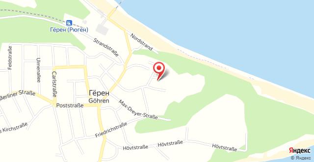Villa Bergfrieden - Ferienwohnungen 3 & 4 Sterne на карте