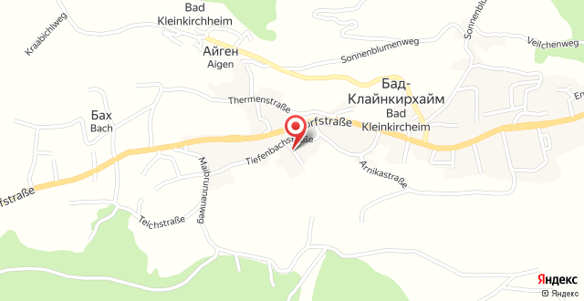 Haus Alpenruhe на карте