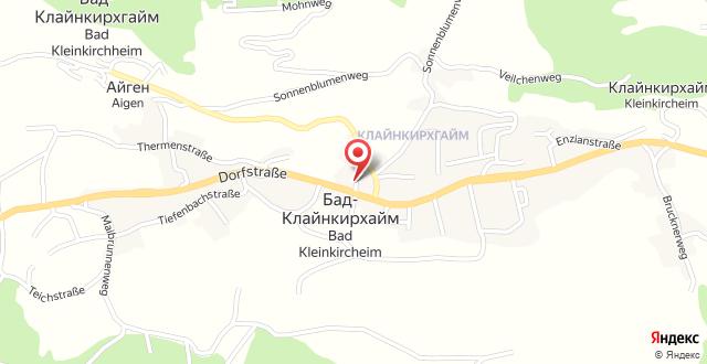 Gasthof-Pension Alt Kirchheim на карте