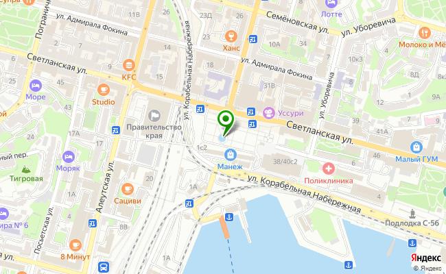 Сбербанк Владивосток проспект 100 лет Владивостоку 150, корп.В карта