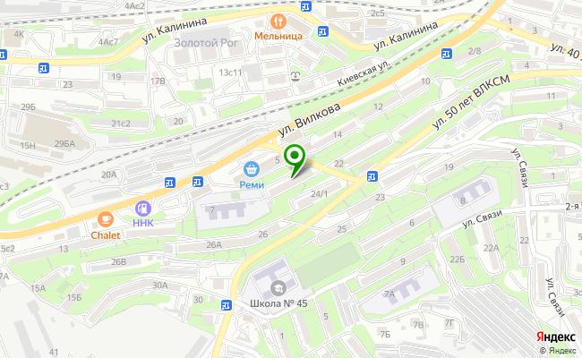 Сбербанк Владивосток ул. Вилкова 3 карта