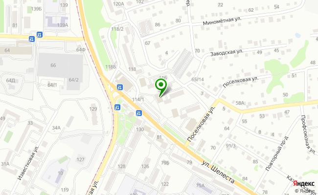 Сбербанк Хабаровск ул. Шелеста 114 карта