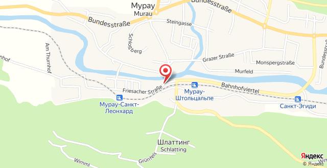 Hotel Alpin Murau на карте