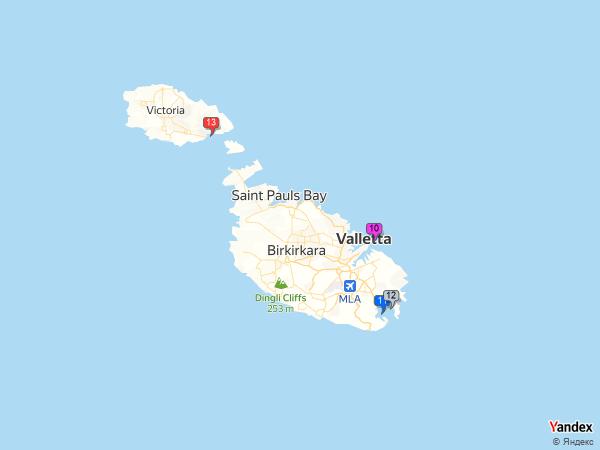 coal to Malta