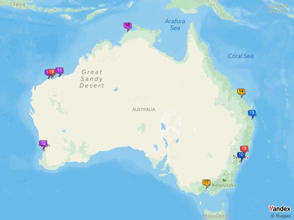 coal to Australia