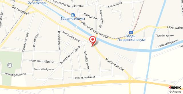 Motel Baden на карте