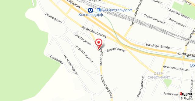 Hostel Hütteldorf на карте