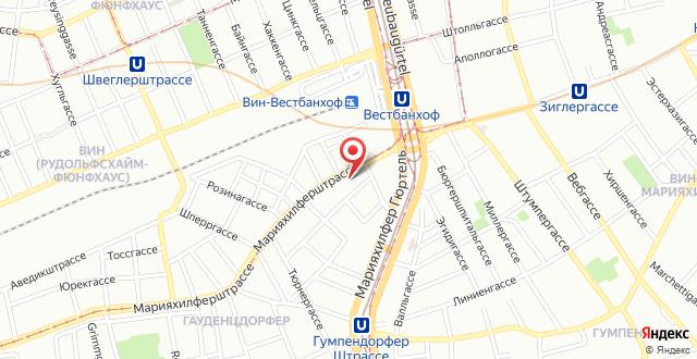 Wombats City Hostel Vienna - The Lounge на карте