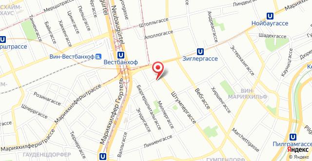 Westend City Hostel на карте