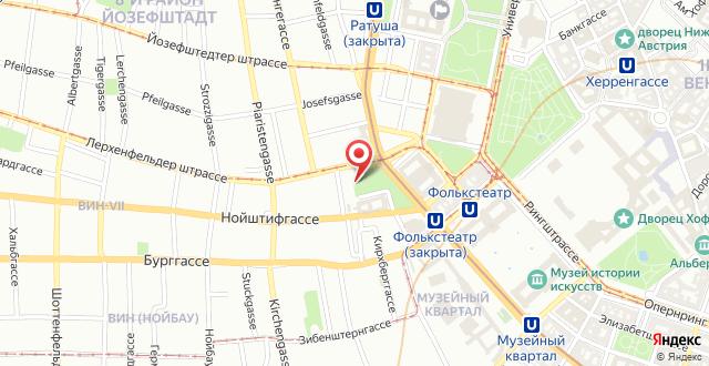 25hours Hotel beim MuseumsQuartier на карте