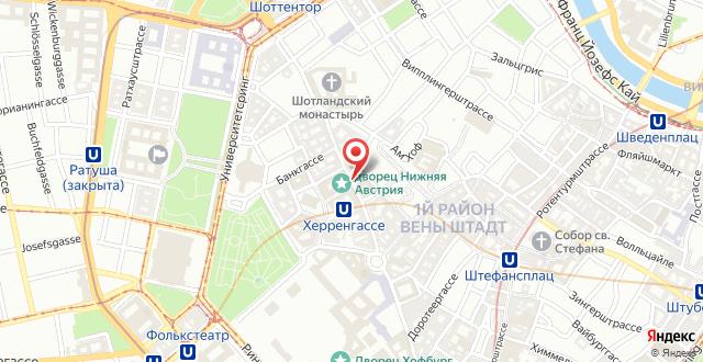 Radisson Blu Style Hotel, Vienna на карте