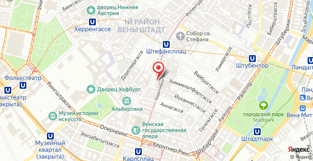 Hotel Ambassador на карте