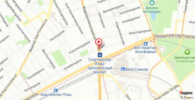SKY9 Penthouse Apartments на карте