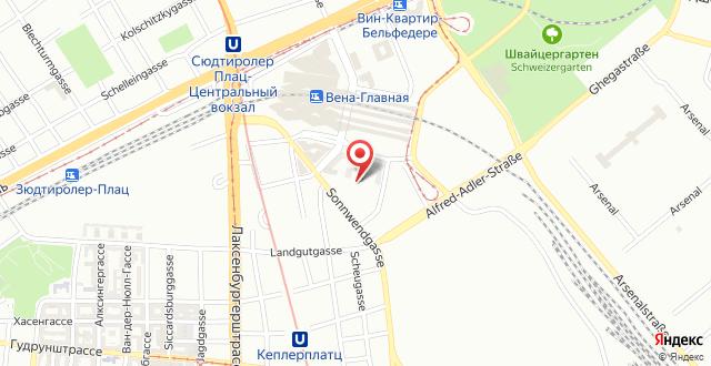 A&O Wien Hauptbahnhof на карте