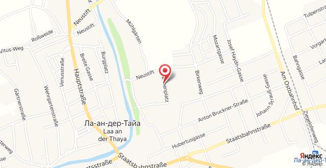Therme Laa - Hotel & Silent Spa на карте