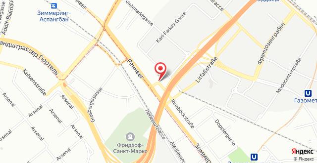 Austria Trend Hotel Doppio Wien на карте