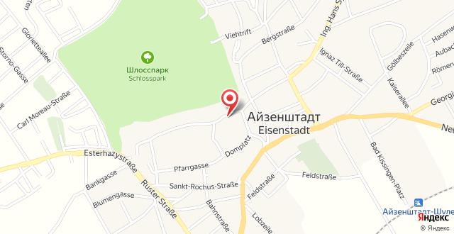 Parkhotel Eisenstadt на карте