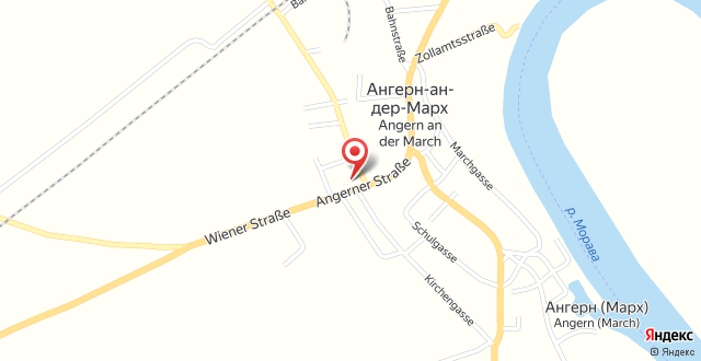 Motel Angern на карте