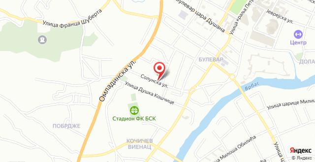 Apartment NiN Rustik на карте