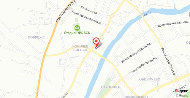 Ciklon Apartment на карте