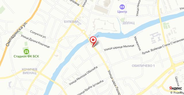 Apartment MA 2 на карте