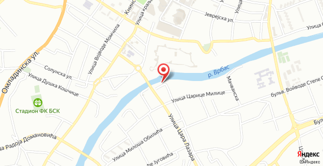 Hotel Vila Vrbas на карте