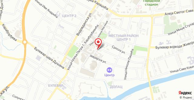 Apartmani Olimpus на карте