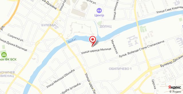 Apartments Villa Kobilj на карте