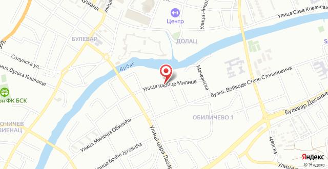 Apartmani Castra на карте