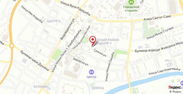 Hotel Talija на карте