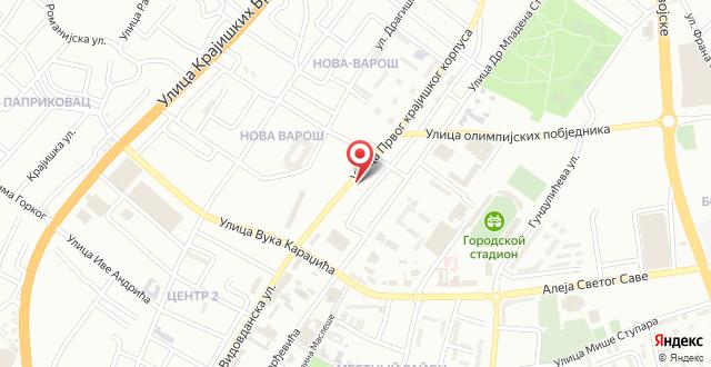 Hostel Havana на карте