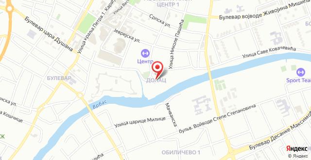 Hotel Atina на карте