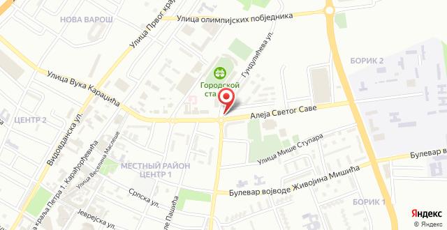 City Retro Chic Banja Luka на карте