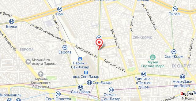 Exe Paris centre на карте