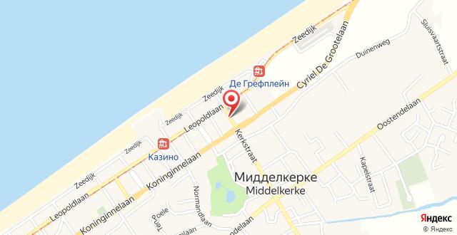 Hotel Honfleur на карте