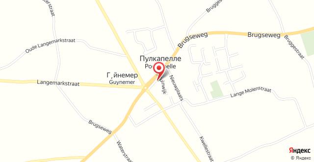 B&B 't Oud Gemeentehuis Poelkapelle на карте