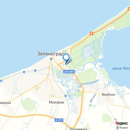 жилой дом Солнечный на карте