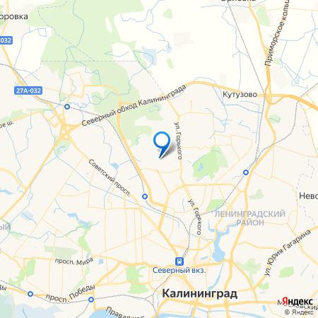Арт квартал на карте