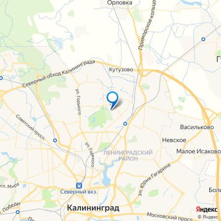 блок-секции на Богатырской на карте