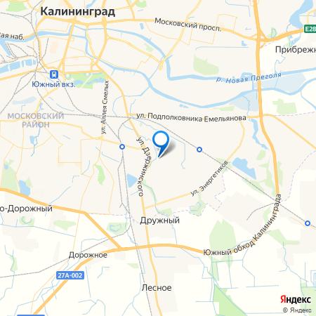 дом на ул. Земнухова на карте