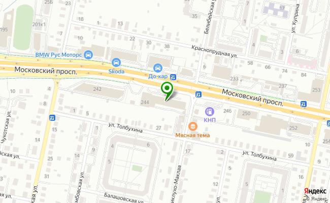 Сбербанк Калининград проспект Московский 244 карта