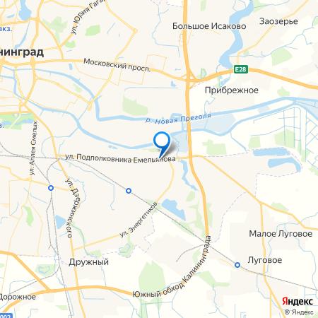 Емеля на карте
