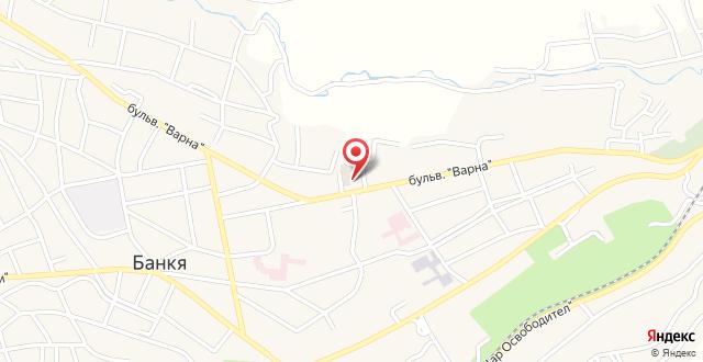 Hotel Bankya Palace на карте
