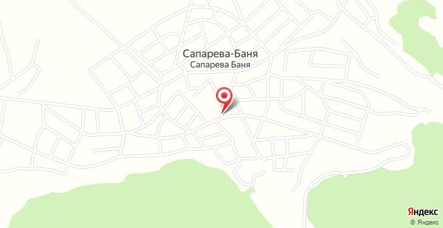 Sveti Nikola Family Hotel Sapareva Banya на карте