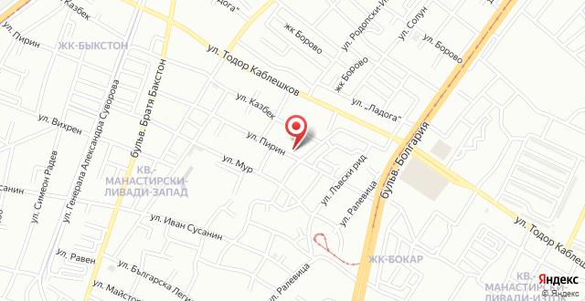 Pirin Apartment на карте