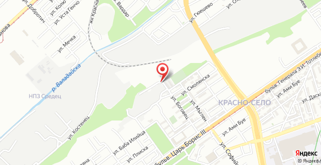 Bogovec apartment на карте
