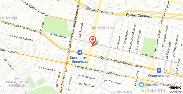 Orpheus Apartments на карте