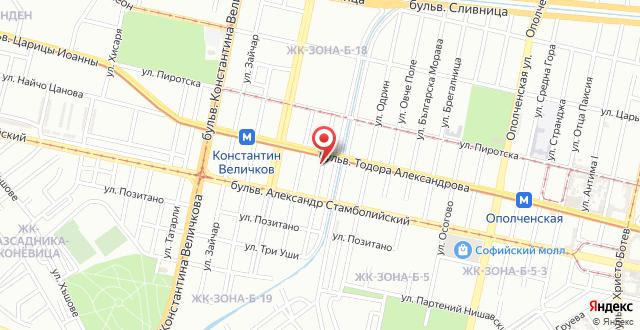 Изи-Отель София на карте