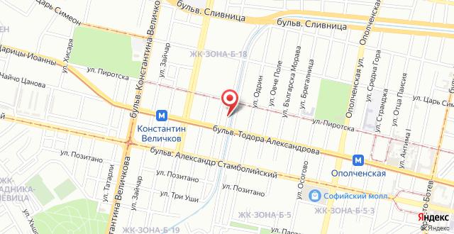 Cozy Apartment Ivan Ivanov на карте